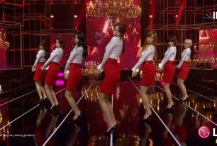 红唇烈焰、惹火色彩(韩国AOA _ Miniskirt)超赞4K MV/2160p/H265[百度]