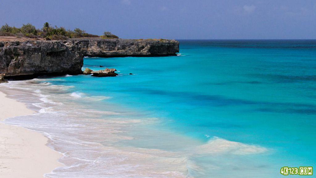 世界上最好的海滩,底湾-巴巴多斯[4k-uhd-ultrahd]
