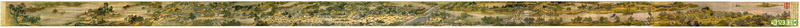 本人收藏的超清中国地图  清明上河图(11935×8554)