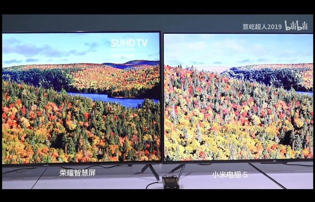 关于小米电视5和荣耀智慧屏pro的拆机对比