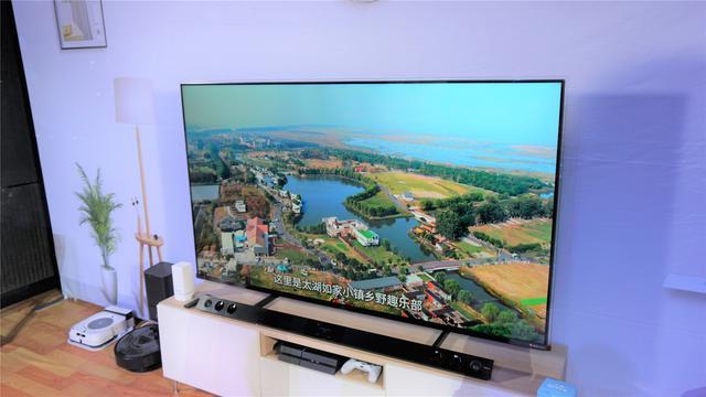 热点科技品鉴会之电视体验,TCL 75吋 C10 双屏QLED TV用了就上瘾