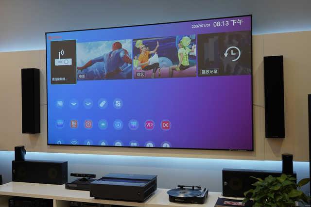 带来电影级的真色彩 明基i965L激光电视评测