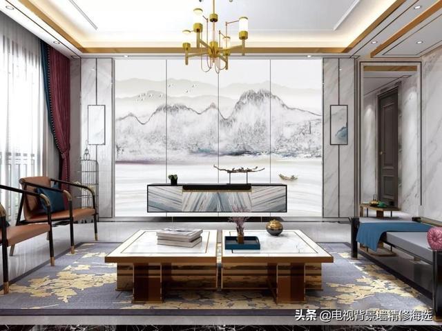 大板时代,背景墙的奢华登场,规格800x2600高温微晶大板